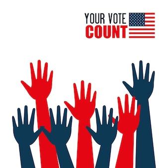 Mains levées élection présidentielle