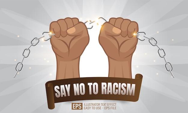 Mains de personnes afro-américaines tenant une chaîne