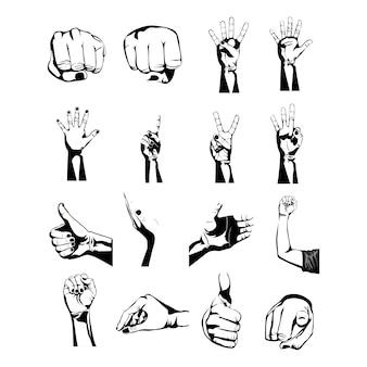 Mains simboles