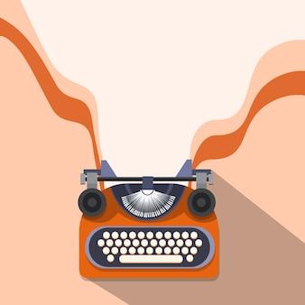 Mains tapant rédacteur de texte