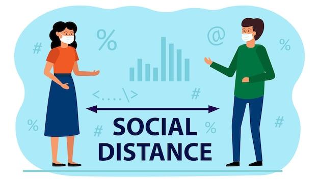 Maintenir la distance sociale au bureau entre les employés.