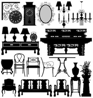 Maison ancienne de meubles anciens.