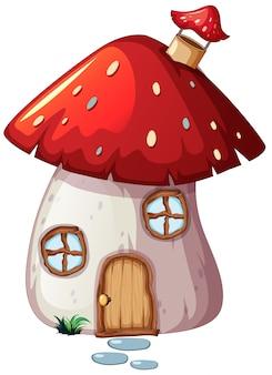 Une maison aux champignons enchantée