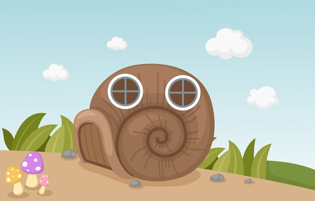 Maison d'escargot