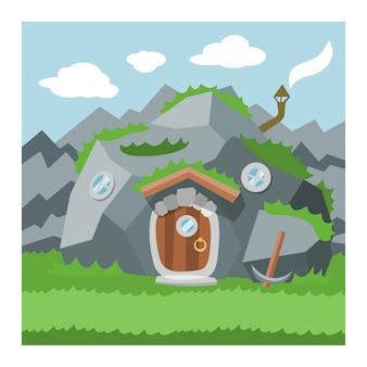 Maison de gnome fantastique