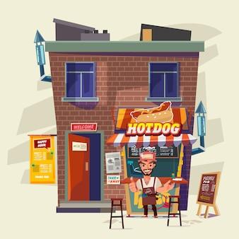 Maison de hot-dog