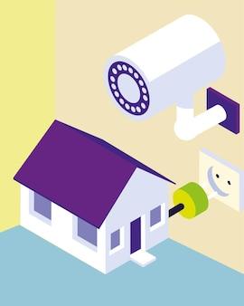 Maison intelligente sécurisée