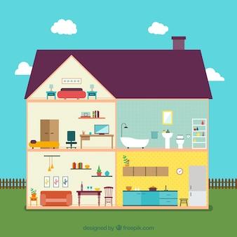 Maison intérieure