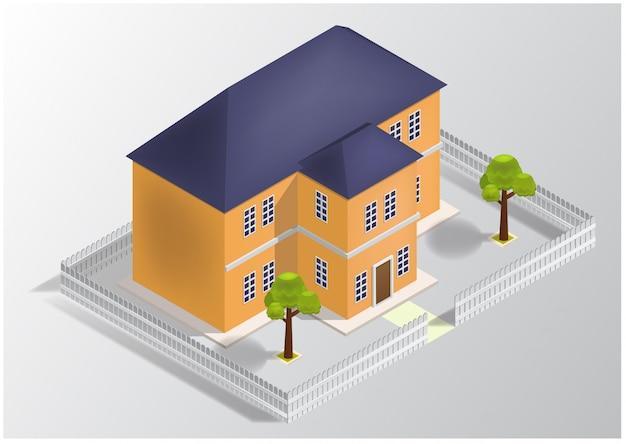 Maison isométrique