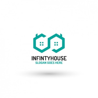 Maison logo template