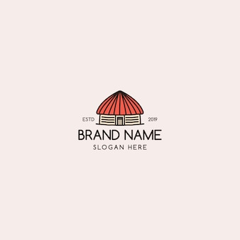 Maison logo vintage