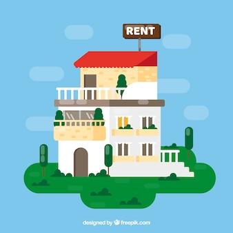 Maison à louer fond