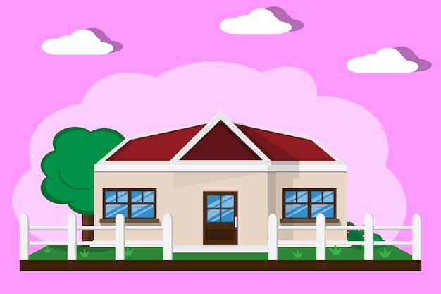 Maison maison avec jardin