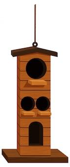 La maison des oiseaux pour de nombreux oiseaux