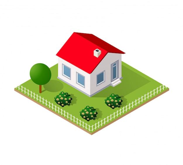 Maison de ville en isométrique