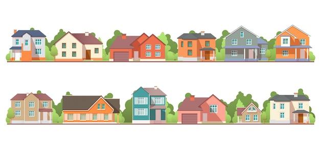 Maisons résidentielles