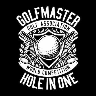 Maître de golf