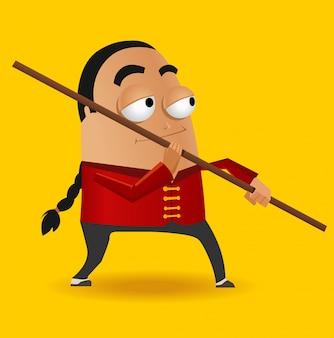Maître de kung fu