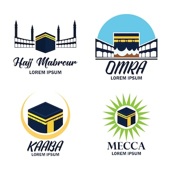 Makkah méca kaaba hajj omra logo