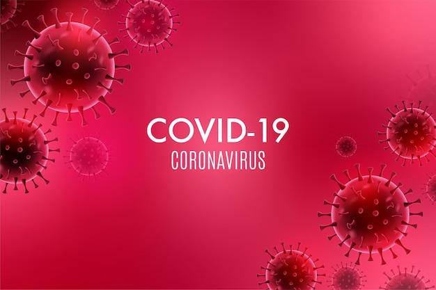 Maladie du coronavirus infection covid19 médicale
