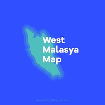 Malaisie péninsulaire carte