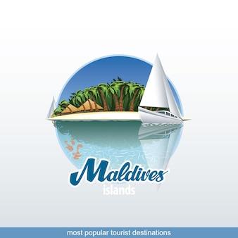 Les maldives sont la destination touristique la plus populaire avec des endroits inoubliables