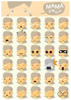 Mama emoji icons