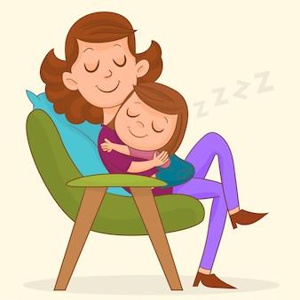 Maman et bébé