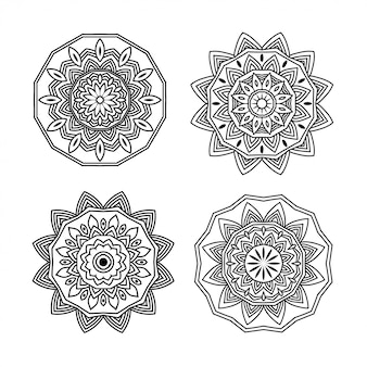 Mandala 4 pack design