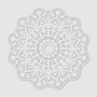 Mandala blanc