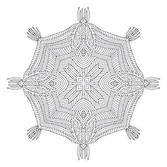 Mandala bohème ornemental