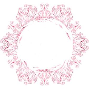 Mandala circulaire pour le henné, mehndi, tatouage, décoration. ornement décoratif ethnique oriental