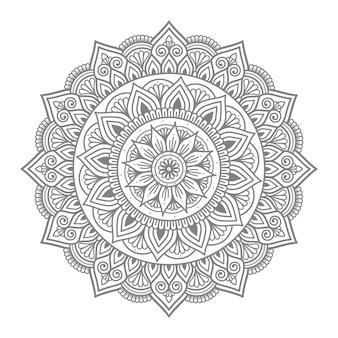 Mandala circulaire