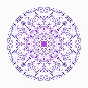 Mandala coloré