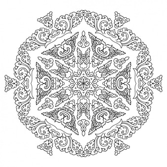 Mandala conception de fond