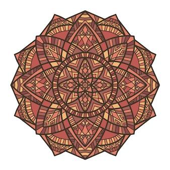 Mandala design pour l'impression. ornement tribal.