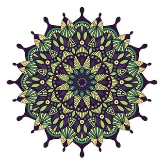 Mandala design vintage pour l'impression. ornement tribal.
