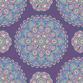 Mandala design vintage pour l'impression. ornement tribal.