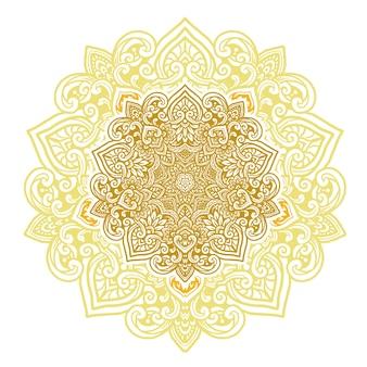 Mandala fleur classique