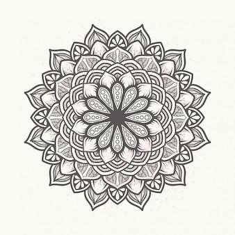 Mandala floral élégant