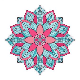 Mandala floral ornemental