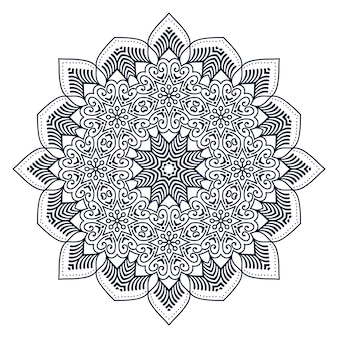 Mandala indien de vecteur