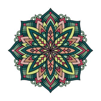 Mandala de kaléidoscope