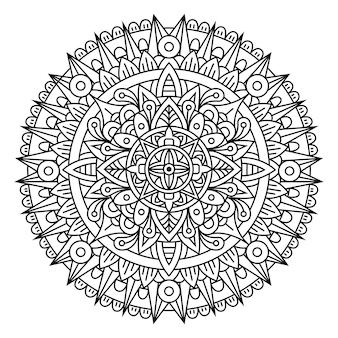 Mandala de luxe créatif