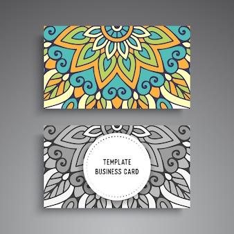 Mandala de luxe design sombre