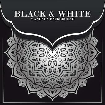 Mandala de luxe rond ornement de fond