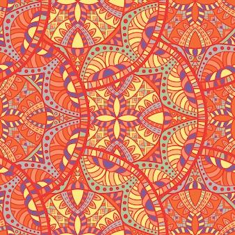 Mandala modèle sans couture pour l'impression. ornement tribal.