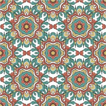 Mandala motif élégant sans couture