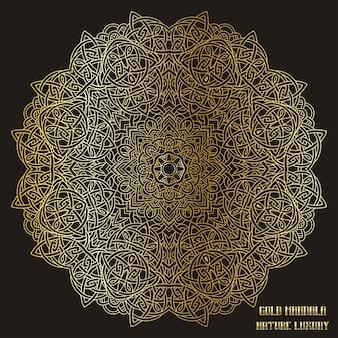 Mandala d'or