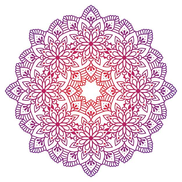 Mandala d'ornement oriental